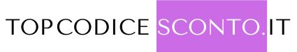 Codice Sconto Italia (Giugno 2021)